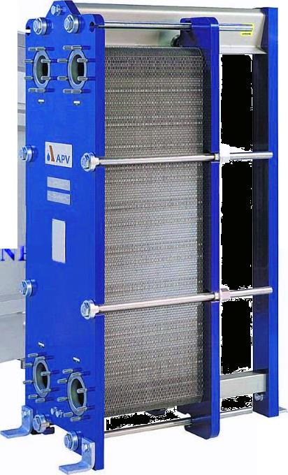 Разборный пластинчатый теплообменник APV U2 Зеленодольск Уплотнения теплообменника КС 056 Невинномысск