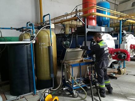 Модернизация теплообменников на котельных Кожухотрубный конденсатор WTK CF 80 Тюмень